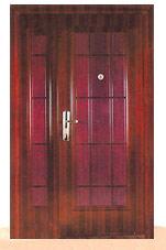 дверь металлическая двустворчатая коломна